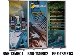 Techspray MRO Banner Stands