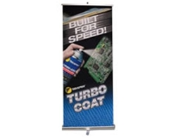 Turbo-Coat Banner Stand