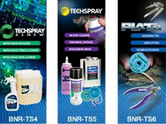 Techspray New Banner Stands